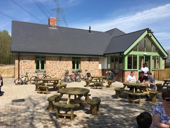 Mountsorrel and Rothley Community Heritage Centre: Outside Granite's Cafe at the Heritage Centre