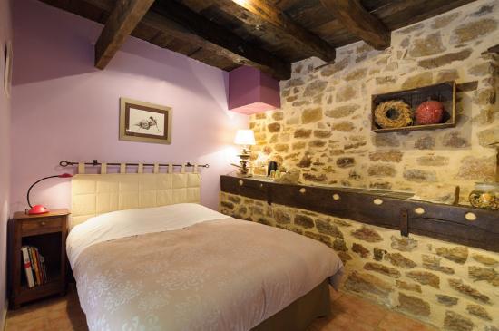 Felzins, فرنسا: Chambre Bambou