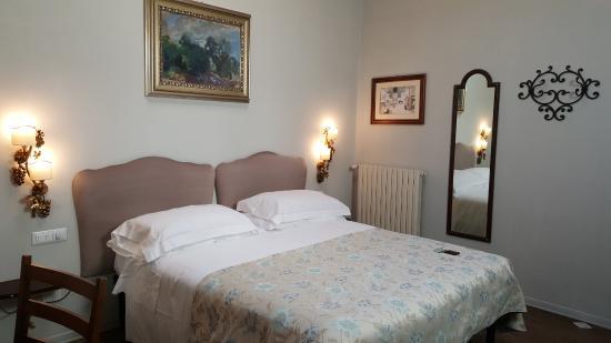 Hotel David: Angenehmer Schlafbereich