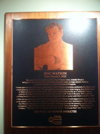 International Bluegrass Music Museum: Doc Watson
