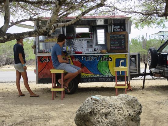 Cactus Blue on the Beach: The Food Truck
