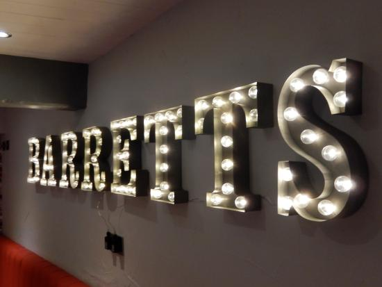 Barretts: Name In Lights! Images