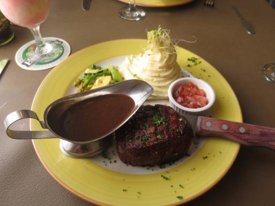 Patagonia: Filet and Mashed Potatoes