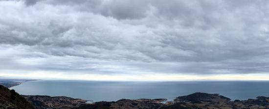 Vue sur la côte vermeille - Collioure, Port-Vendres, banyuls-sur-mer