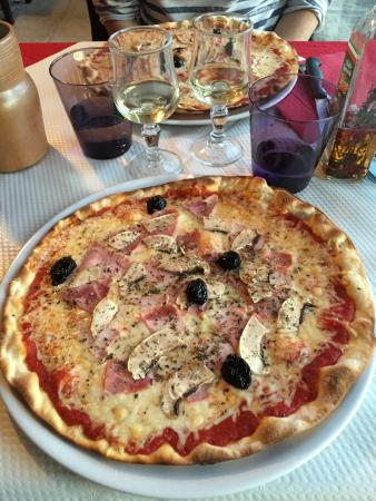 Resto 3 Vallees : Pizza reine