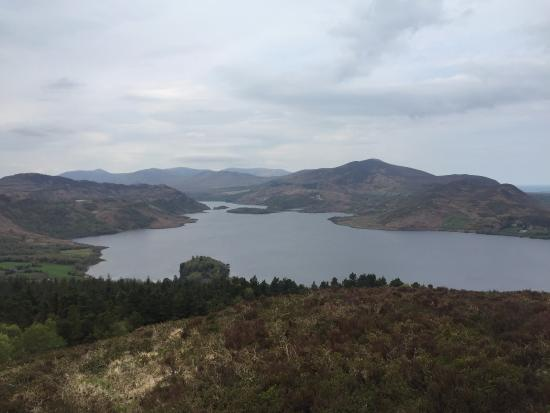 Caragh Lake, Irland: Beautiful Panoramic Views