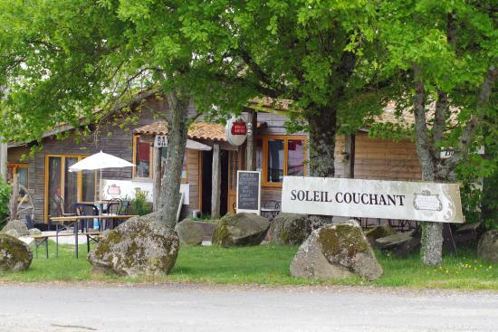 Verneuil, Francia: soleil couchant