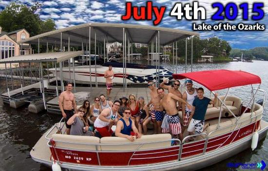 Dirty Duck Boat Rental: 4th of July weekend
