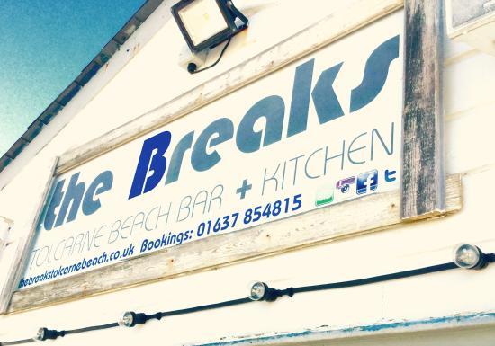 The Breaks Tolcarne Beach Bar & Kitchen: The Breaks
