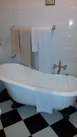 Rosebank, Zuid-Afrika: il y a aussi une douche