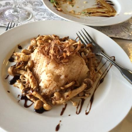 Aleathea S Restaurant Mushroom Risotto Vegan