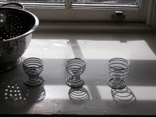 Nicolson Apartments : キッチンの窓