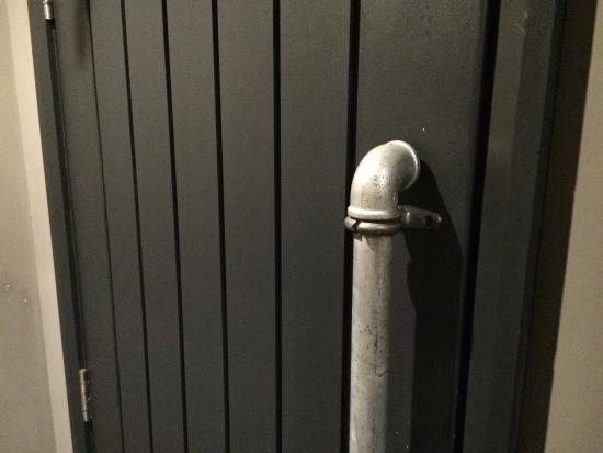 Whalley, UK: Door handles made from recycled plumbing parts