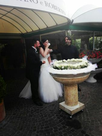 Infernetto, Italia: Torta nuziale, e il grande Roberto.
