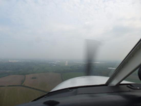 Baginton, UK: Flying