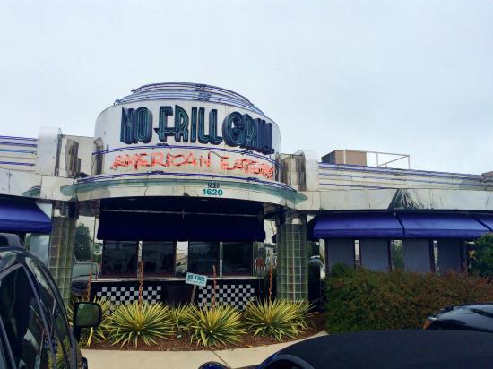 No Frill Bar & Grill : No Frill Grill facing Laskin Road, Virginia Beach, VA