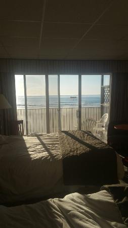 Atlantic Oceanfront Motel: Loved the view!