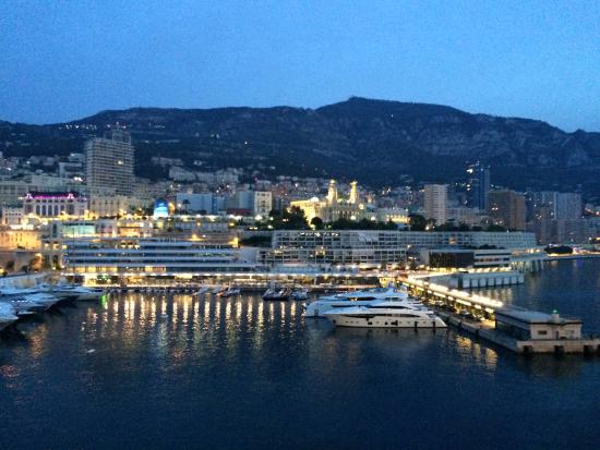 View Of Hotel From Cruise Ship Docked At Monaco Pier Picture Of - Cruise ships in monaco today