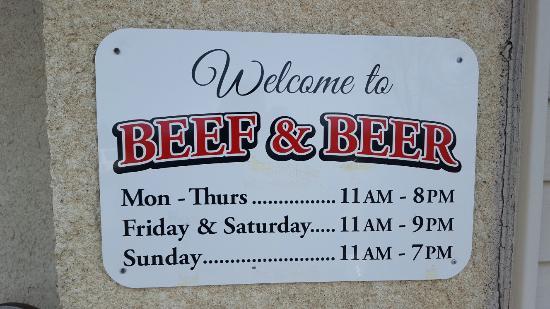 กงโนต์, โอไฮโอ: Beef and Beer