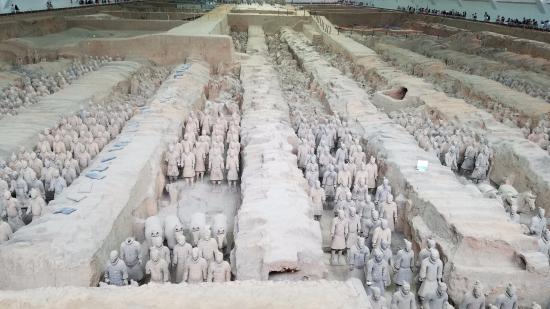 Xian County, China: It truly is army-sized!