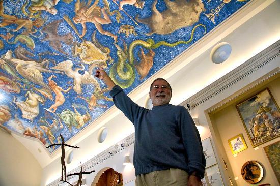 Ca' Toga Galleria D' Arte: Carlo Marchiori at the Gallery