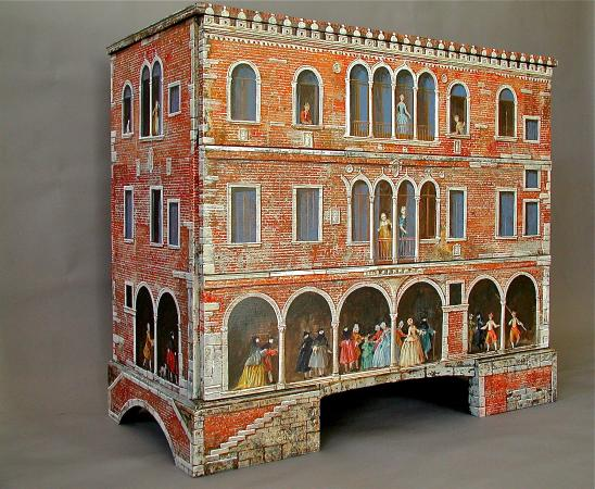 Ca' Toga Galleria D' Arte: Painted Furniture