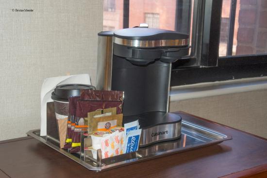 Hilton New York Grand Central: Cafeteira padrão Hilton