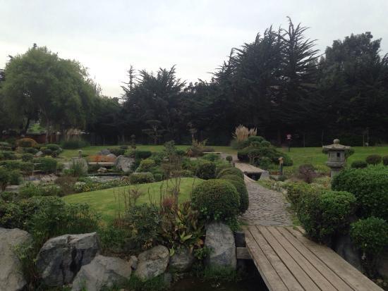 Foto de jardin del corazon la serena puente principal for Jardin principal location