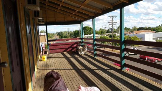 Cloncurry, Australië: Balcony view 1