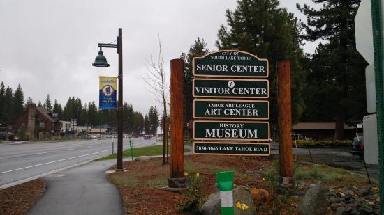 South Lake Tahoe, Californië: Street View and Signage