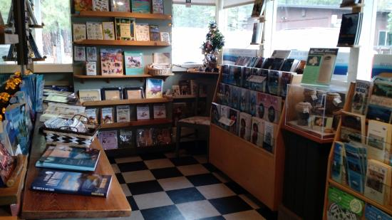 South Lake Tahoe, Californië: Bookstore with Jewelries