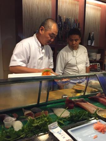 Excellent Sushi au cœur de Laguna beach
