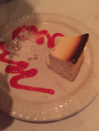 LA Rivista Palatine Restaurant: Rico cheesecake