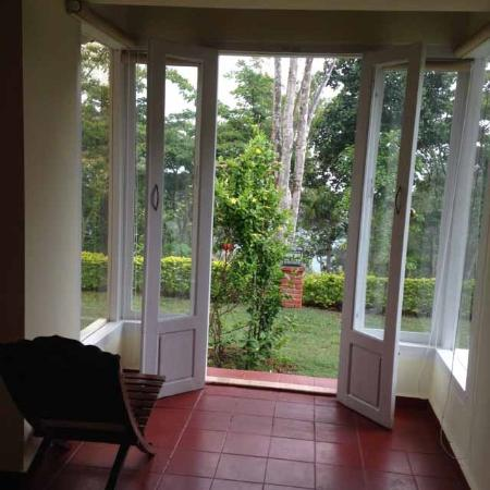 Ambady Estate: Bedroom opens onto a lovely well kept garden