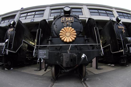 Umekoji Steam Locomotive Museum: 扇形車庫3