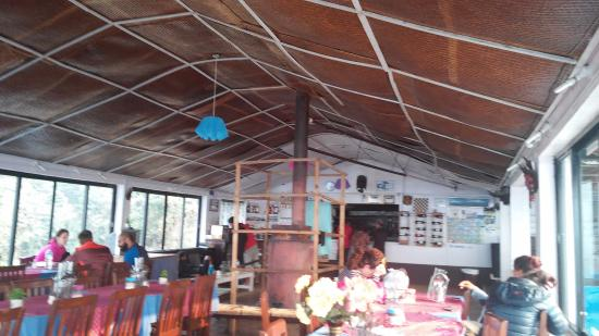 Ghorepani, Nepal: The dining room