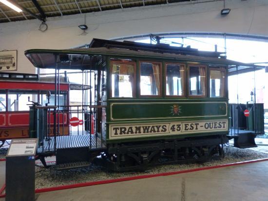 Musee des Transports en Commun du Pays de Liege : Une des plus belles pièces du musée.
