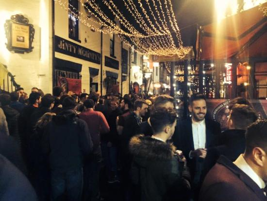 Jinty McGuinty's: A busy New Year in Ashton Lane
