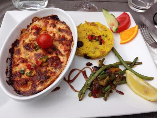 Hotel Le Mas de Grille : Plat du jour