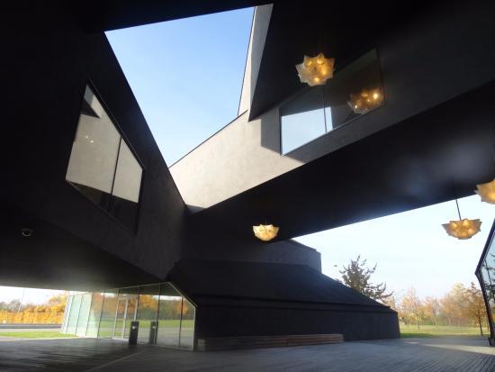 Vitrahaus design decoration for Vitra museum basel
