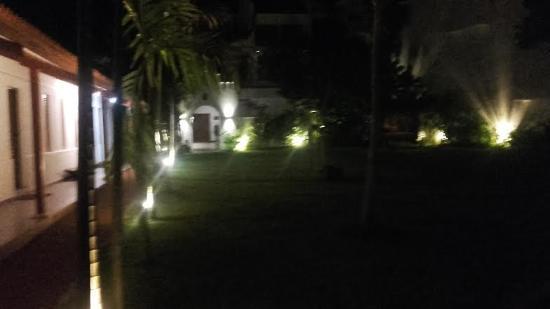 Aditya: entrance to the vila