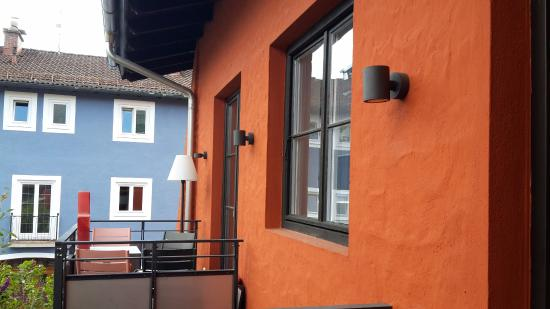 Freiraum Zentral: Kleiner Balkon