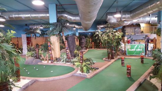 Southend Adventure Island Mini Golf