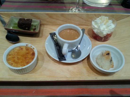 Le Spot : Café Gourmand