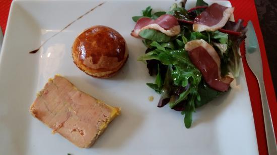 Boulbon, ฝรั่งเศส: Foie gras du chef