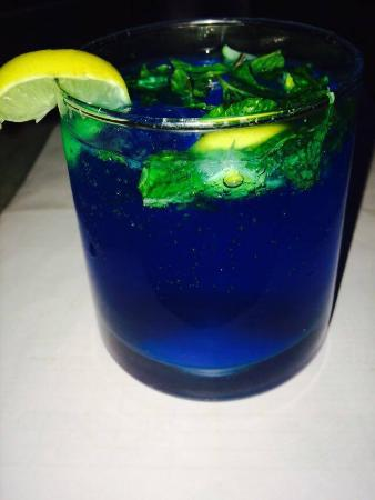 The Blue Lagoon Mocktail Picture Of Chill Grills Jaipur