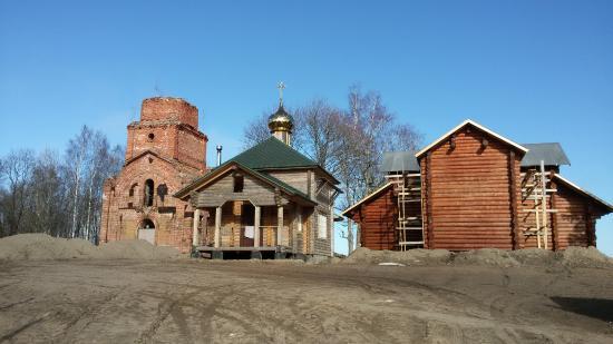 Leningrad Oblast, Rosja: Никольская церковь на Сойкинском погосте