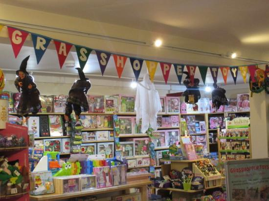 Helensburgh, UK: Grasshopper Toys, an exciting toy shop!