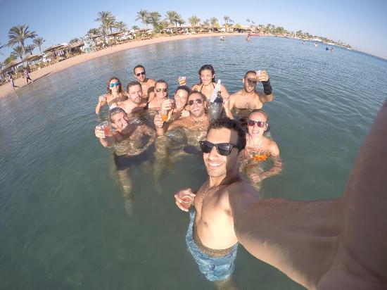 Dahab Resort: my diving team