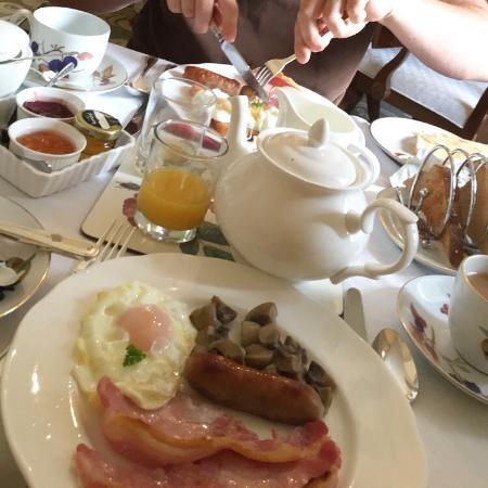 Sidbury, UK: Breakfast